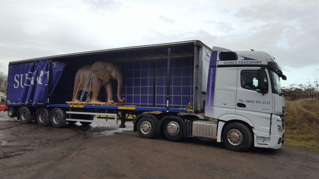 Elephant in Artic