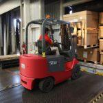 Forklift crate
