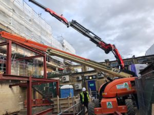 London Hiab Hire Crane Lift