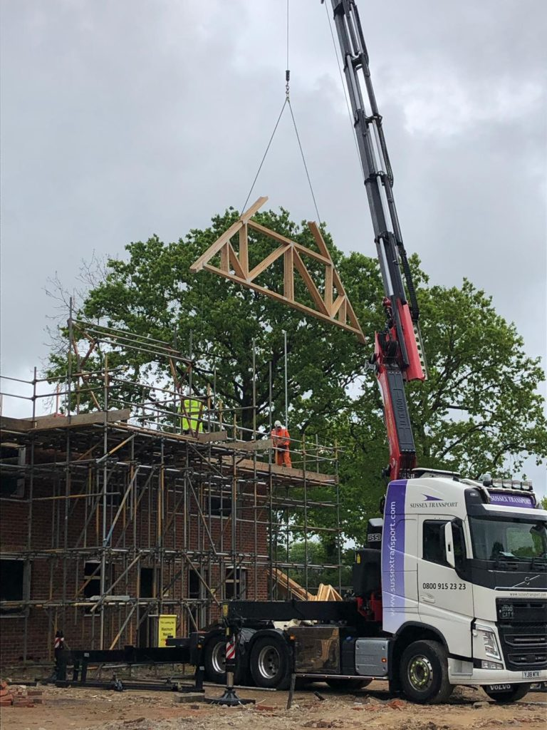 Crane Lorry Roof Truss 3