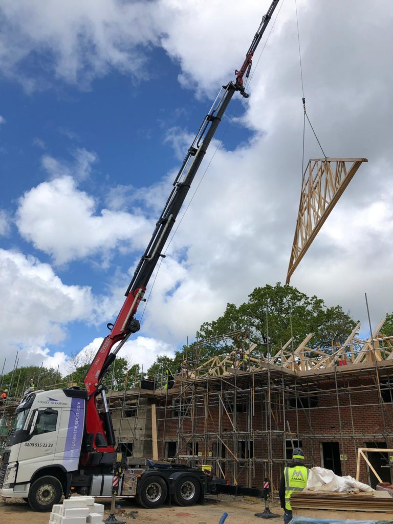 lifting roof Truss