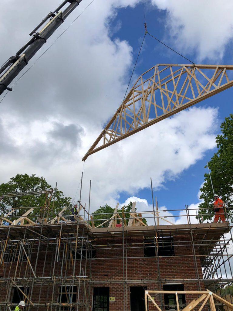 Crane Lorry Roof Trusses