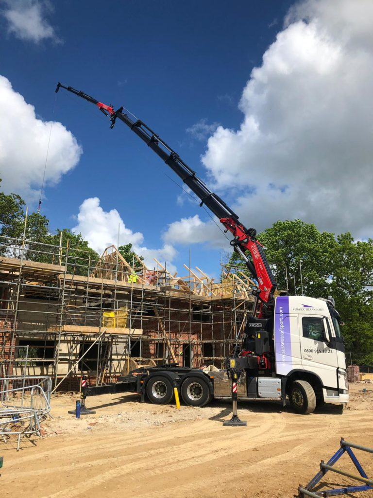 Lorry Loader Roof Trusses