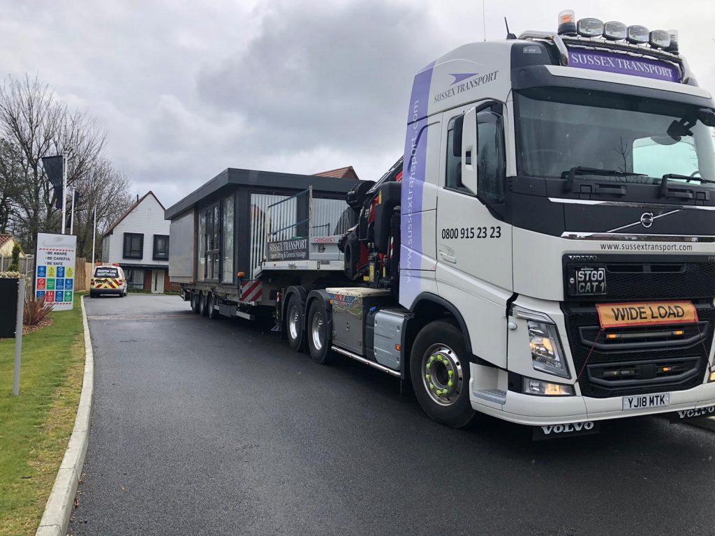 construction logistics sales suite transport