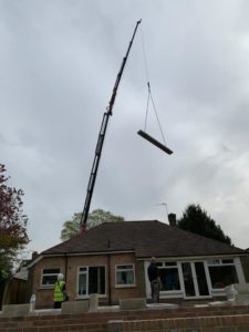 hiab over roof