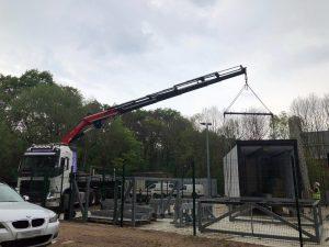 HIAB Cabin Installation