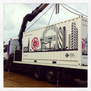 TFL Container delivery
