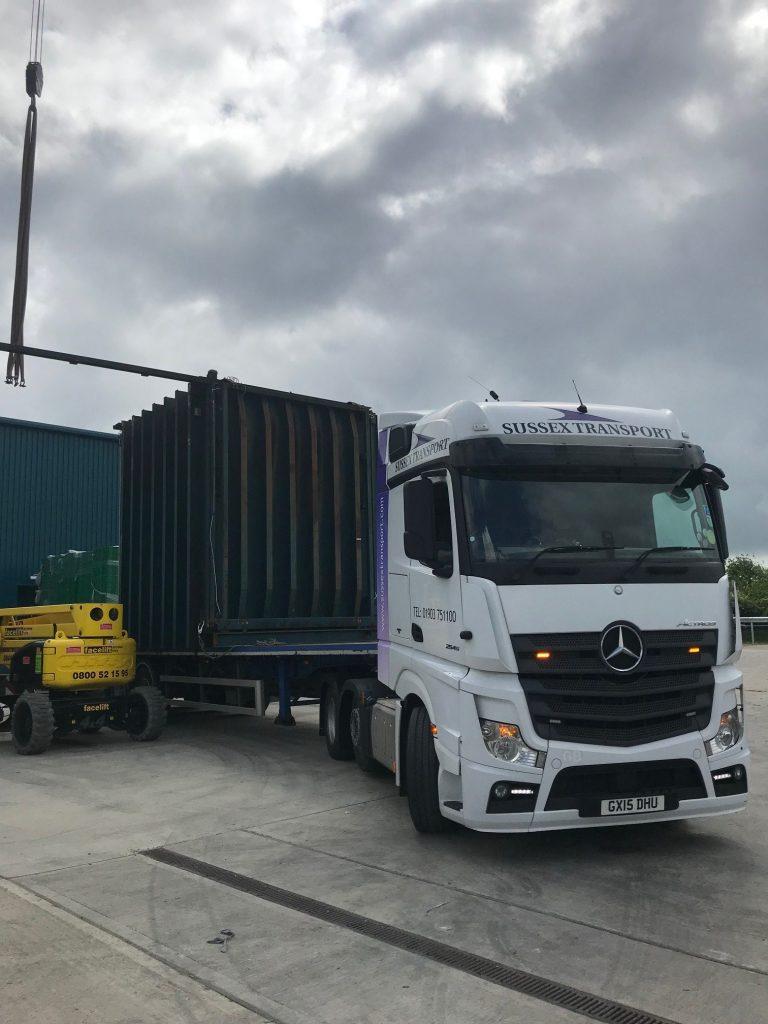 hiab crane truck hire pagham