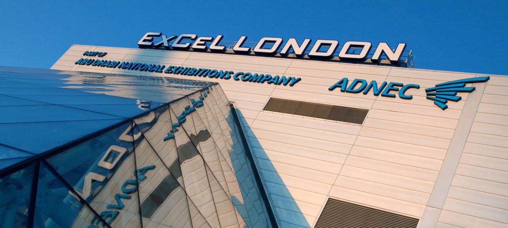 London ExCel Entrance