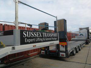 low loader trailer sussex transport