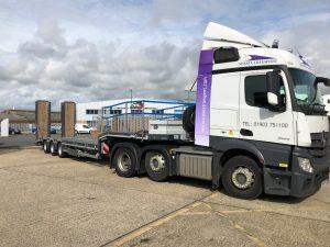 low loader trailer london
