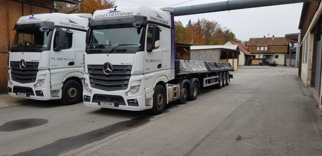 artic transport germany to uk