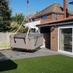Hot tub over house West Sussex