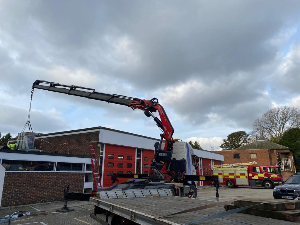 Chichester Fire Station Lift 2