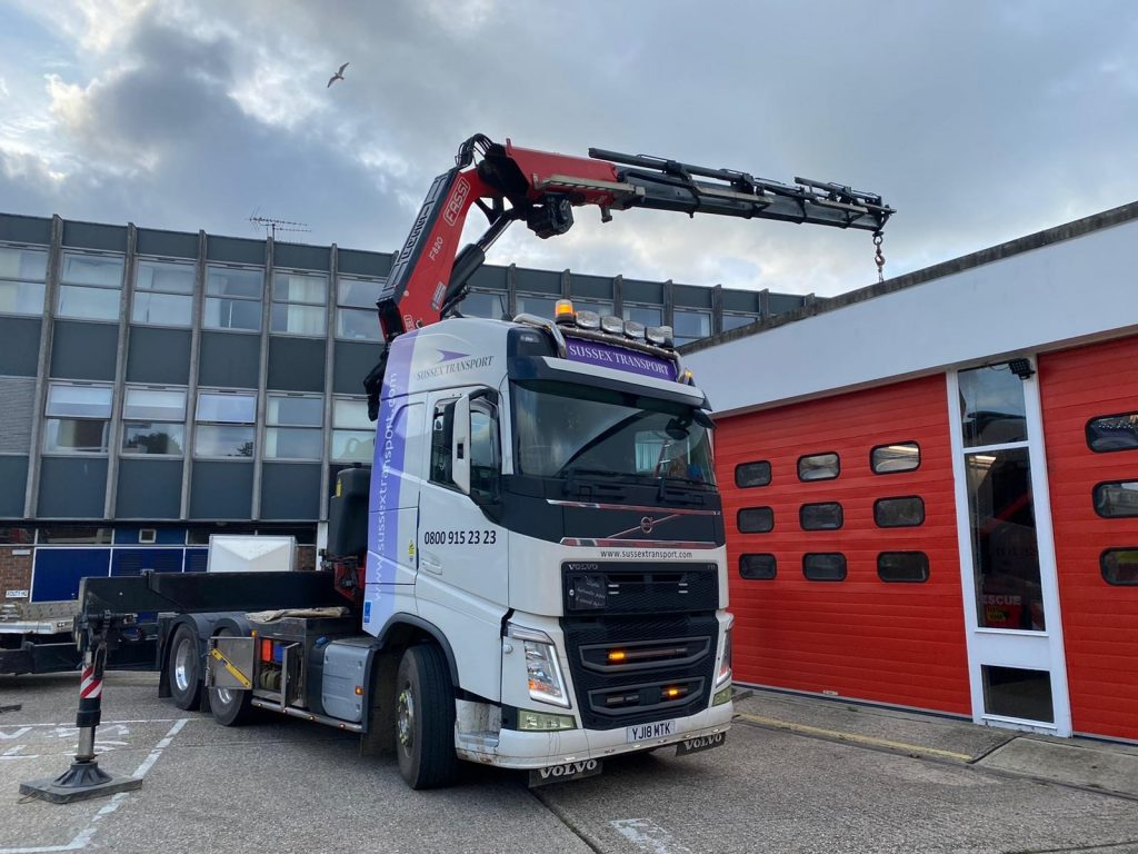 Chichester Fire Station Lift 4