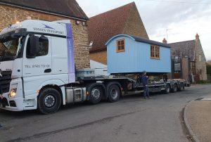 Crane Over House Badby Northamptonshire