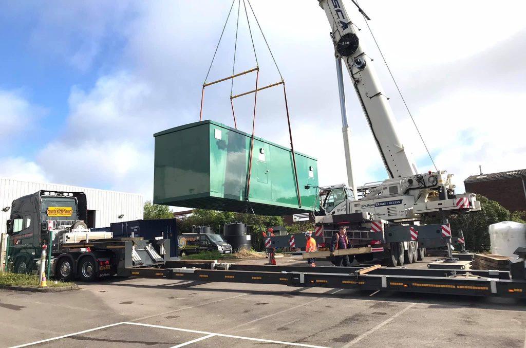 contract lift crane transport company 1