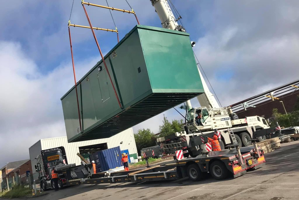 contract lift crane wafer deck