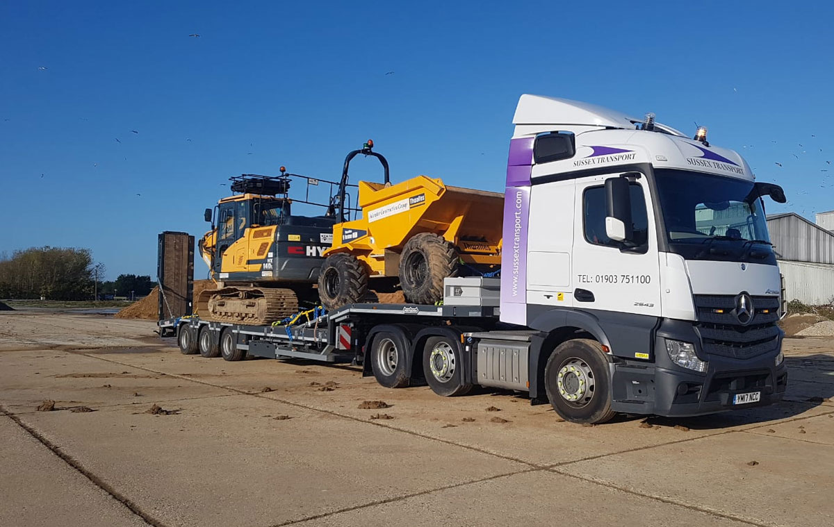 Low Loader Sussex Transport