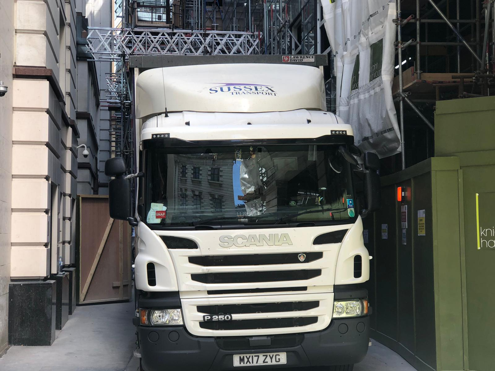 London 18t Rigids Transport Haulage Delivery