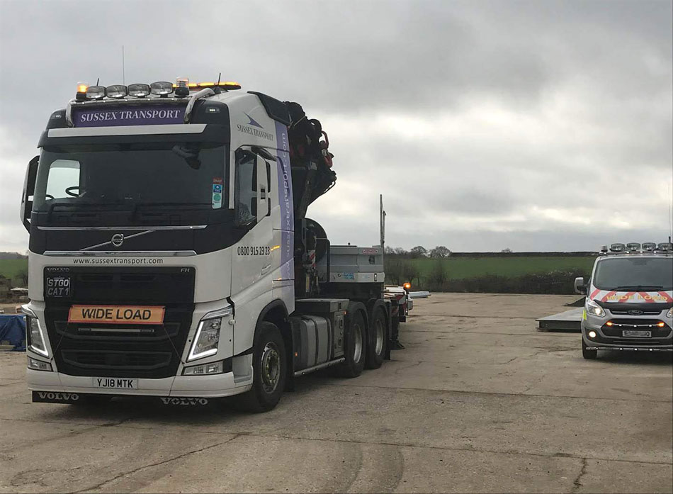 Atic HIAB Wide Load
