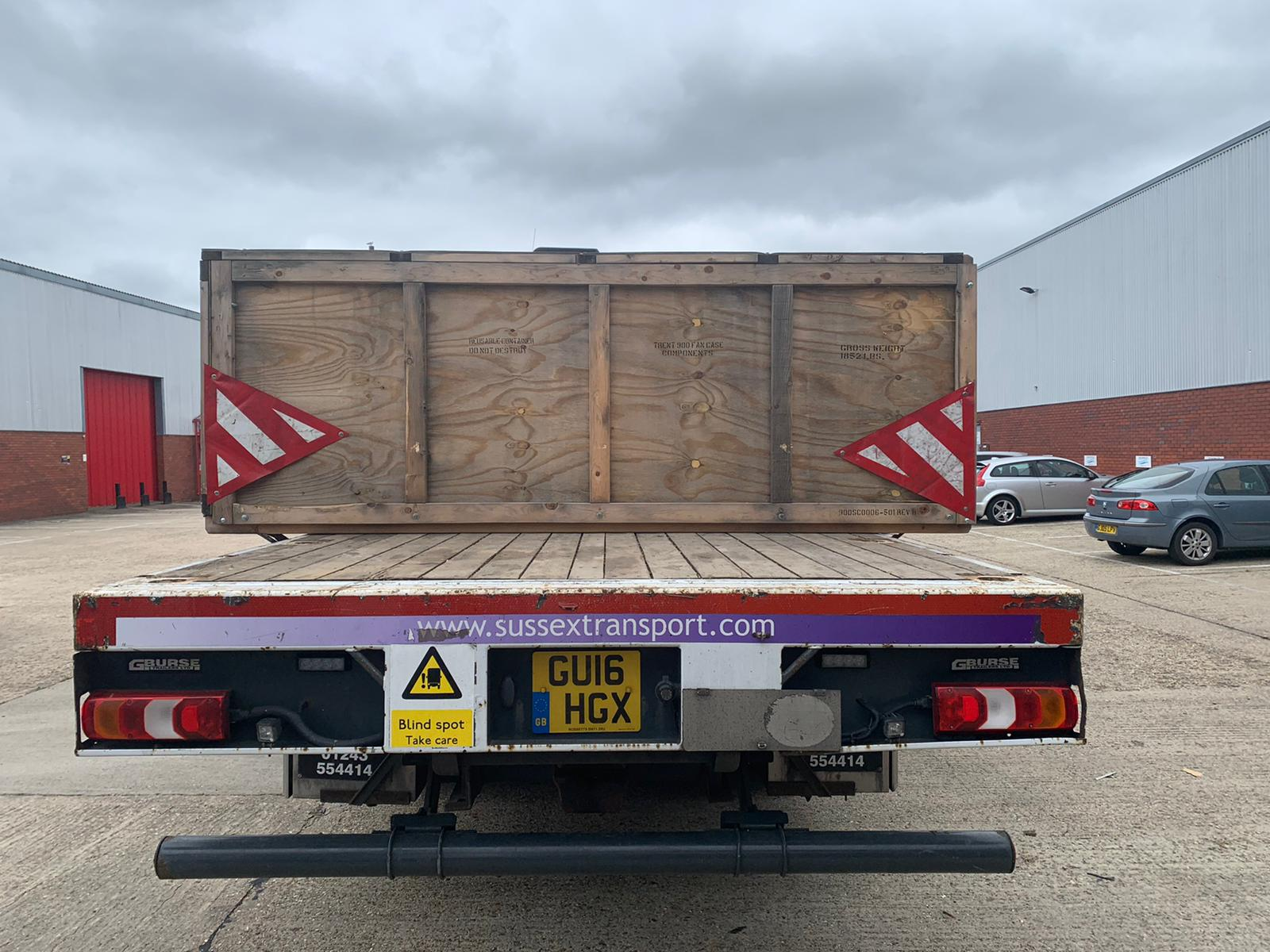Crated Goods Transport Sussex