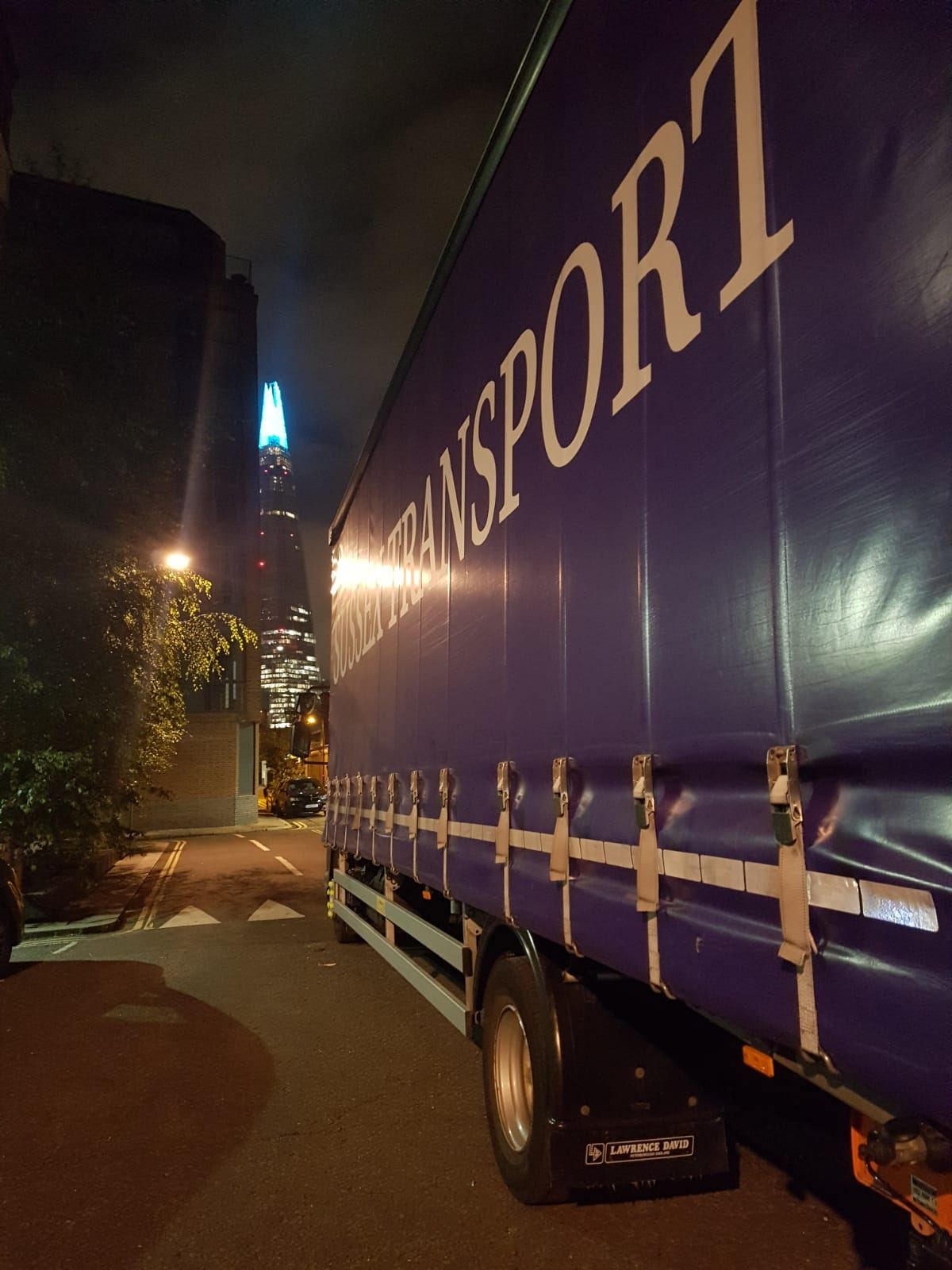 Nightime Deliveries London