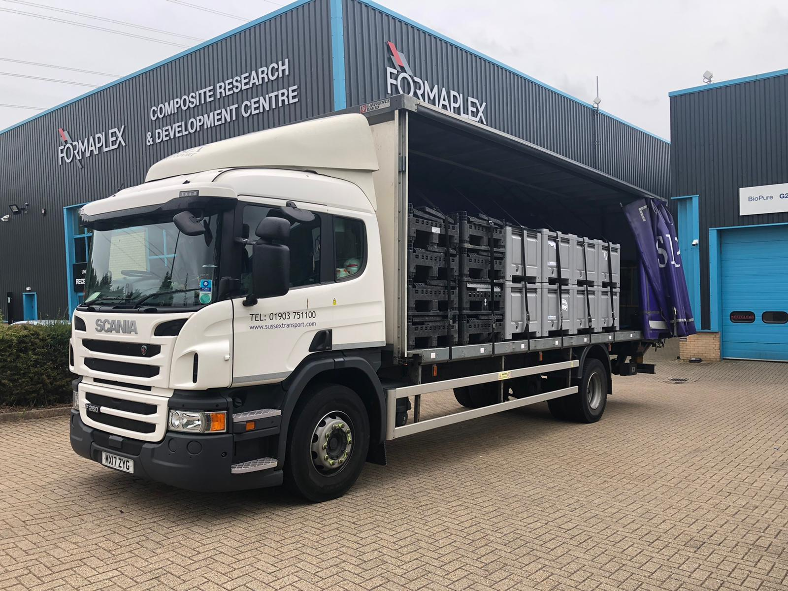Rigid 18t Truck Transport Waterlooville Tonbridge