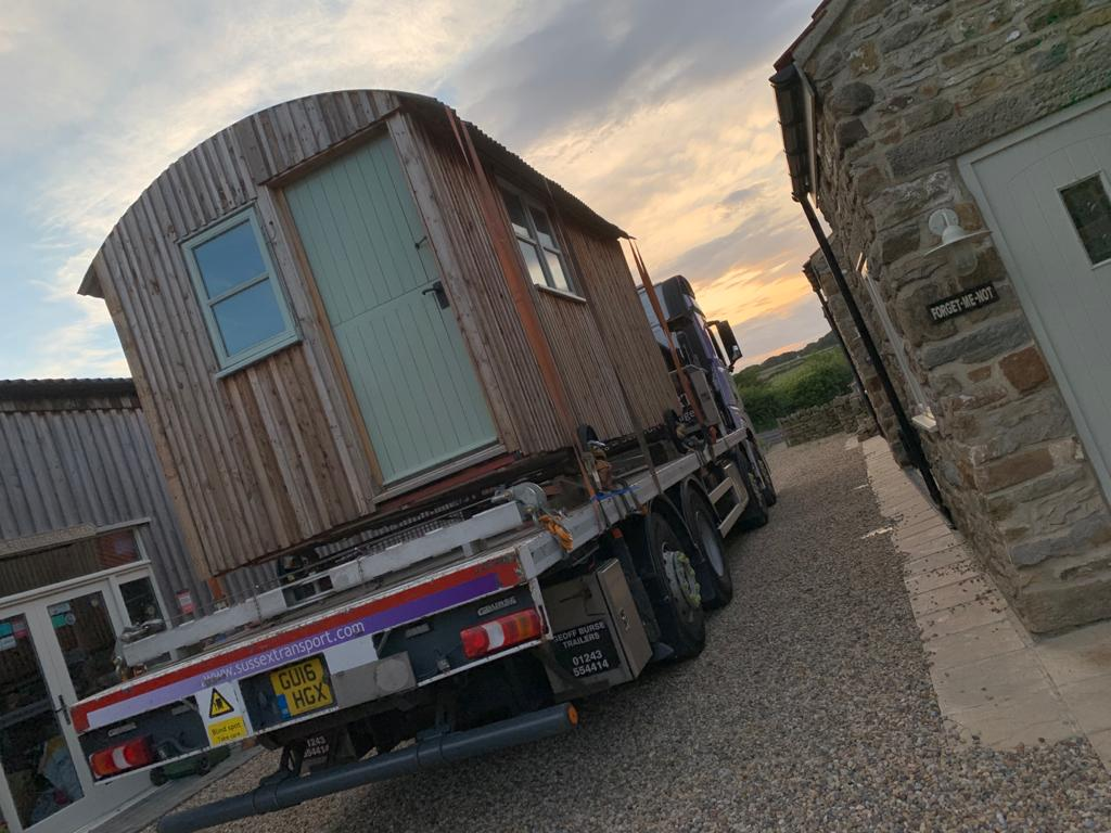 Shepherds Hut Movement Yorkshire Sussex