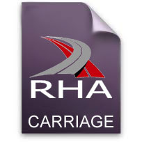 RHA Carriage Terms