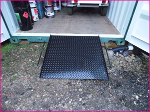 Container Access Ramp